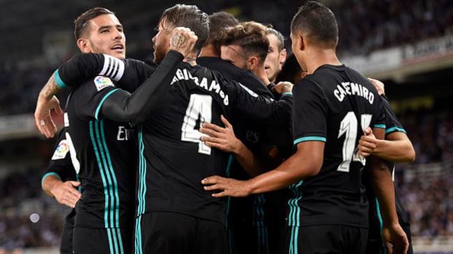 سوسیداد ۱-۳ رئال مادرید ؛ برد پر گل رئال در خارج از خانه