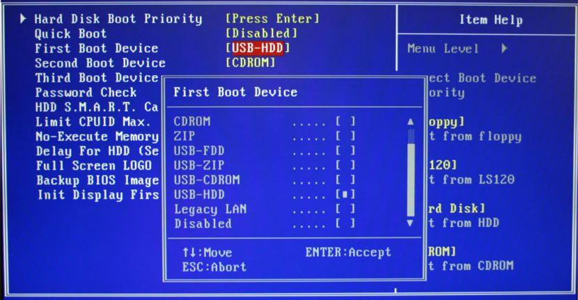 آموزش تنظیمات بایوس برای بوت از روی CD و DVD و یا فلش دیسک